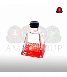Glasbowl AMY I need you 038 - black powder - red
