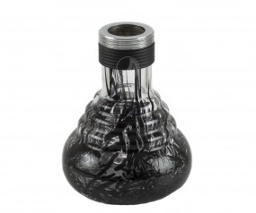 Glasbowl Amy Crazy Dots - black - RS black powder